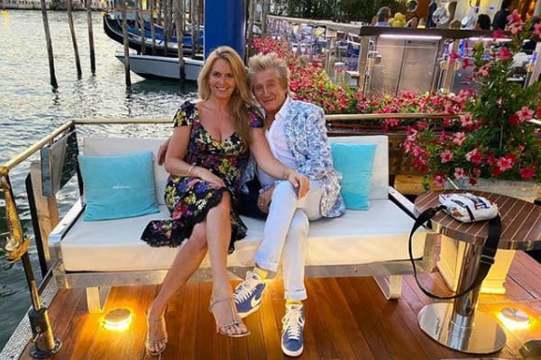 Rod Stewart and Penny Lancaster Love Story