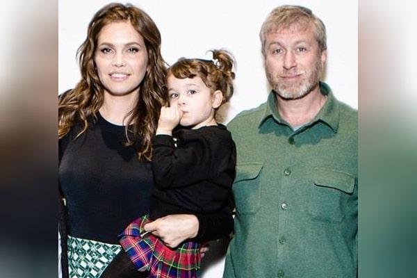 Dasha Zhukova's daughter with Roman Abramovich, Leah Lou Abramovich.