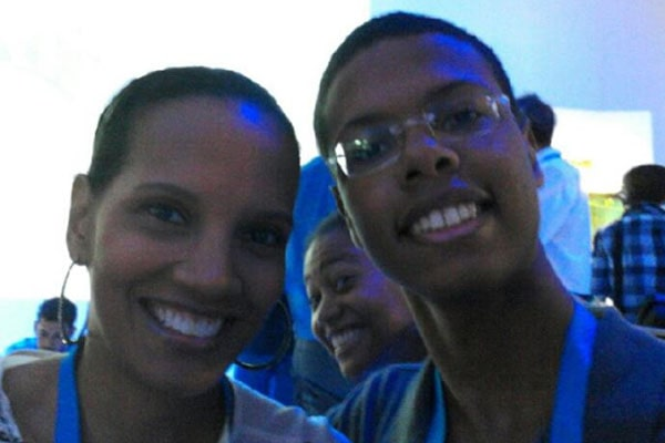 Shari Headley's son Skyler Martin