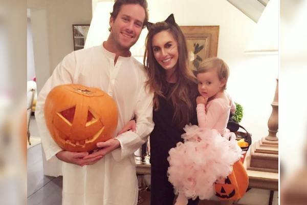 Elizabeth Chambers And Armie Hammer's daughter