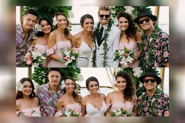 Bruno Mars' sister Tiara Hernandez and other siblings