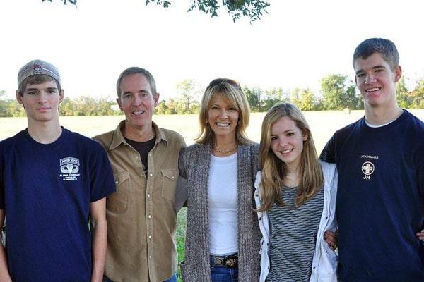 Andy Stanley's children with Sandra Stanley, Garrett Stanley, Allison Stanley, Andrew Stanley