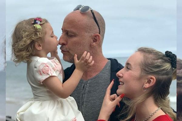Brooke Burns' daughter, Declan Welles