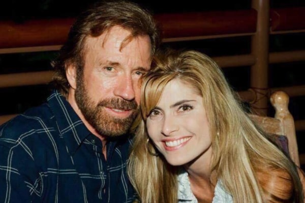 Chuck Norris' wife Gena O'Kelley