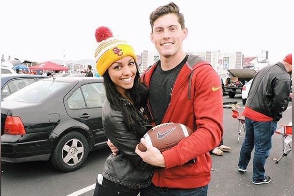 Corinne Foxx's ex-boyfriend, Austin Lantero.