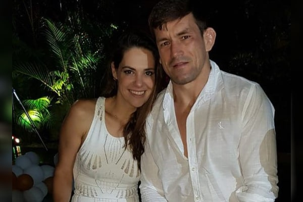 Demian Maia's wife Renata Vieira Maia