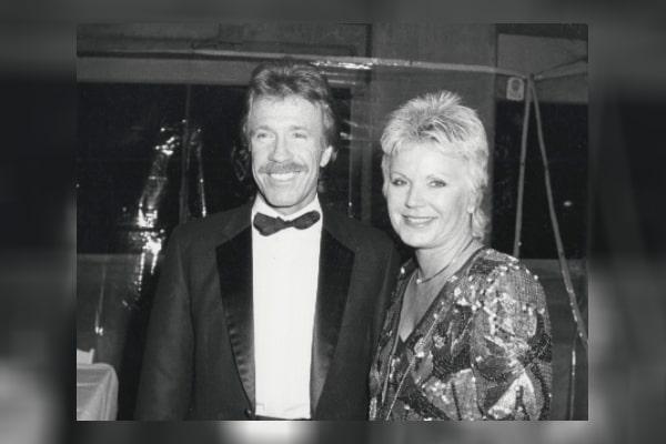 Chuck Norris' ex-wife Dianne Holechek