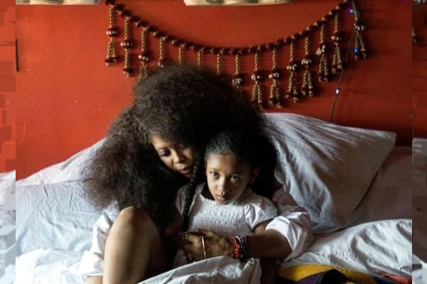 Erykah Badu and Jay Electronica's daughter Mars