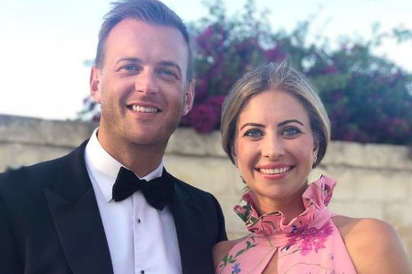 Holly Branson's husband, Freddie Andrewes