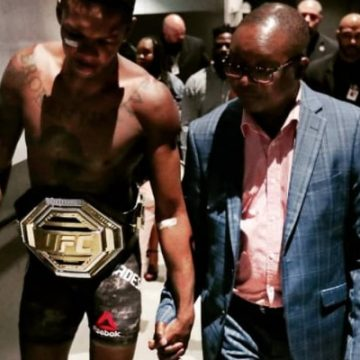 Meet Both Of Israel Adesanya's Parents And See Their Love And Support For The UFC Fighter