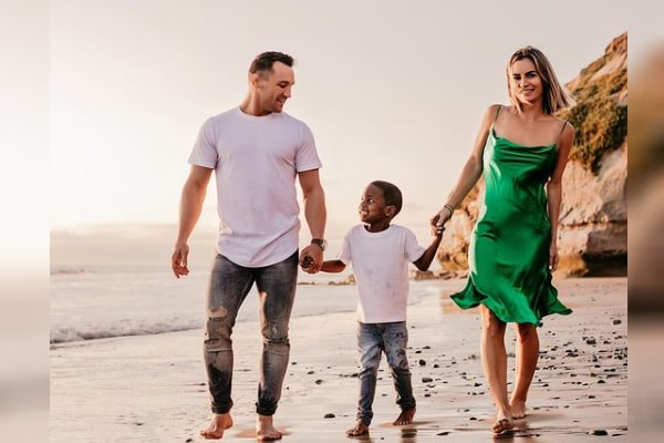 Michael Chandler's Wife and Son