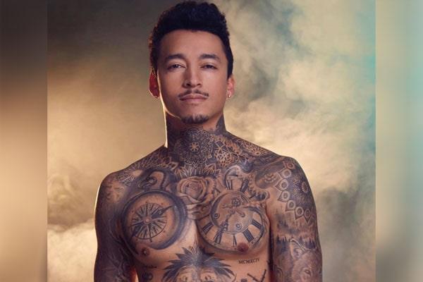 Nyjah Huston tattoos