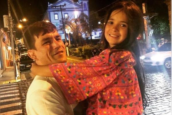 Demian Maia's daughter Pietra Vieira Maia