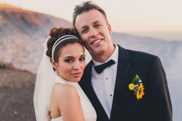 Maria Molina's husband Reed Timmer