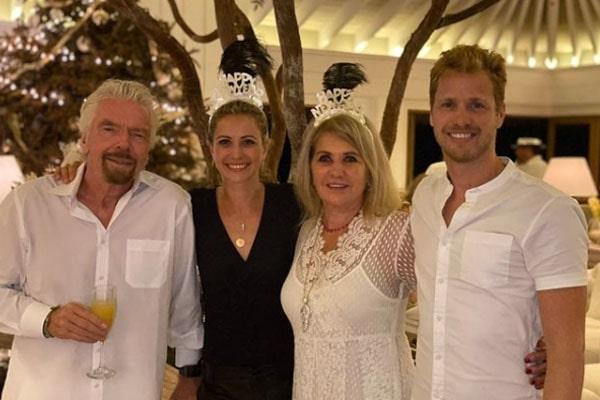 Richard Branson's wife, Joan Templeman Branson