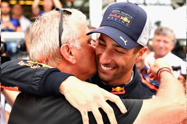 Daniel Ricciardo's Father Joe Ricciardo