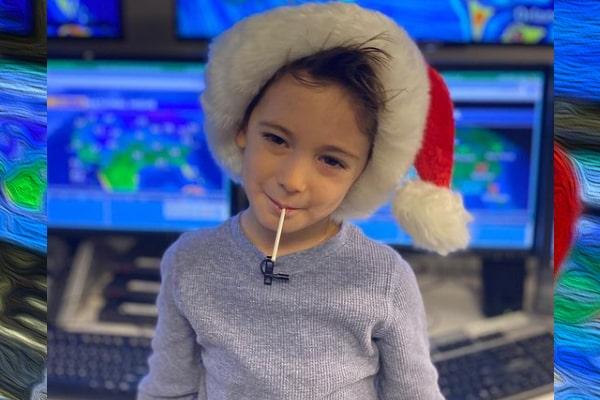 Ginger Zee's son, Adrian Benjamin Colonomos