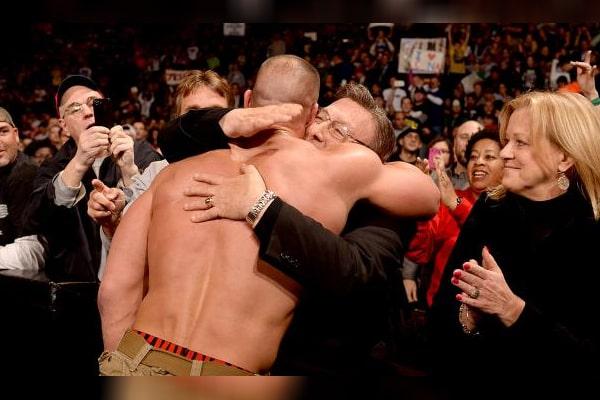 John Cena's father John Cena Sr.