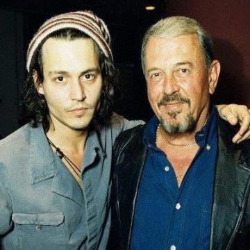 Johnny Depp's Father John Christopher Depp Worked As A Civil Engineer