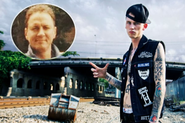 MGK's father