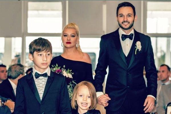 Christina Aguilera's son, Max Liron Bratman