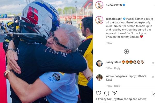 Nicholas Latifi's Dad, Michael Latifi