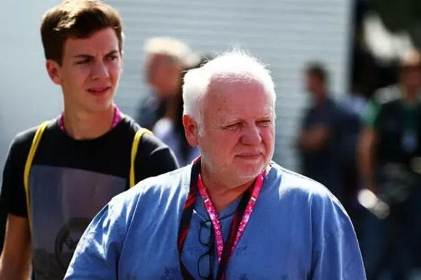 Sebastian Vettel's Father Norbert Vettel