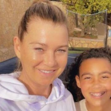 Ellen Pompeo's Daughter Stella Luna Pompeo Ivery, With Husband Chris Ivery