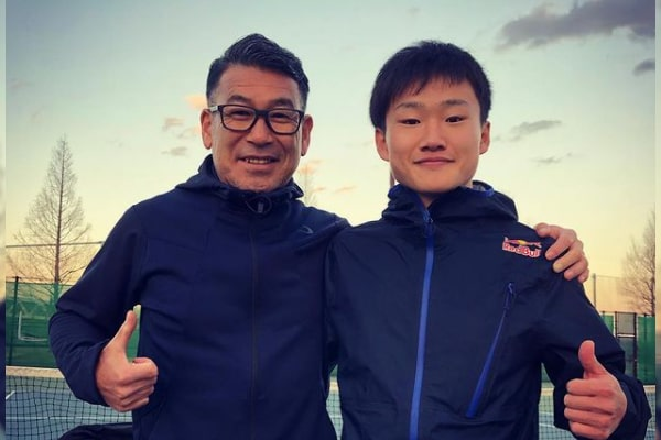 Yuki Tsunoda's Father