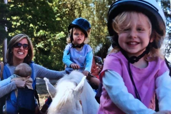 Alisyn Camerota's children, Nathaniel Lewis, Francesca Lewis, Alessandra Lewis