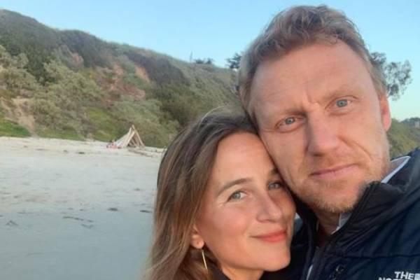 Kevin McKidd's wife Arielle Goldrath