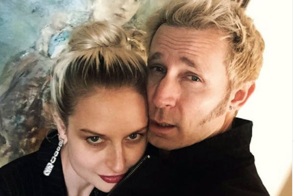 Mike Dirnt's wife, Brittney Cade