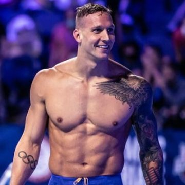 Look At All Of Caeleb Dressel's Tattoos And Know Their Meaning
