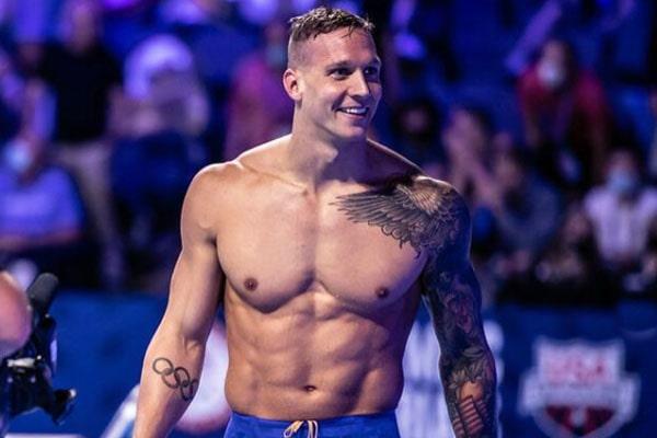 Caeleb Dressel tattoos