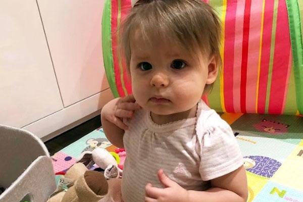 Kate Bolduan's daughter, Delphine Esther Gershenson
