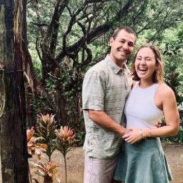 Carissa Moore's Husband Luke Untermann – Lovely Outdoor Wedding