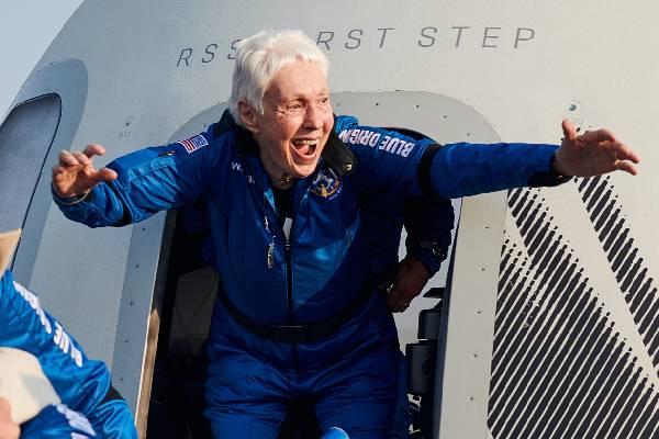 Wally Funk Space Flight