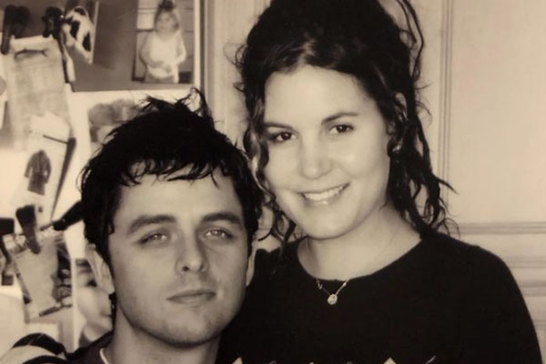 Billie Joe Armstrong's wife, Adrienne Armstrong