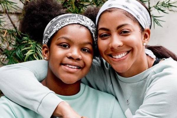 Candace Parker's Daughter Lailaa Nicole Williams With Shelden Williams