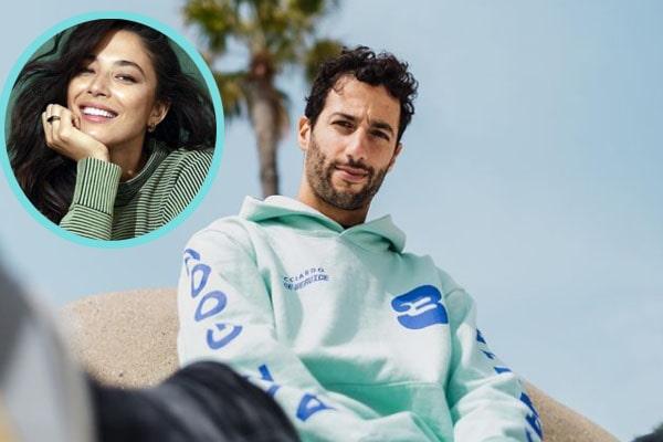 Daniel Ricciardo's girlfriend, Jessica Gomes