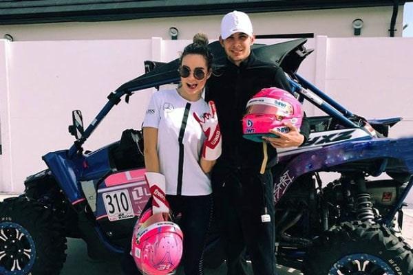 Esteban Ocon's girlfriend, Elena Berri