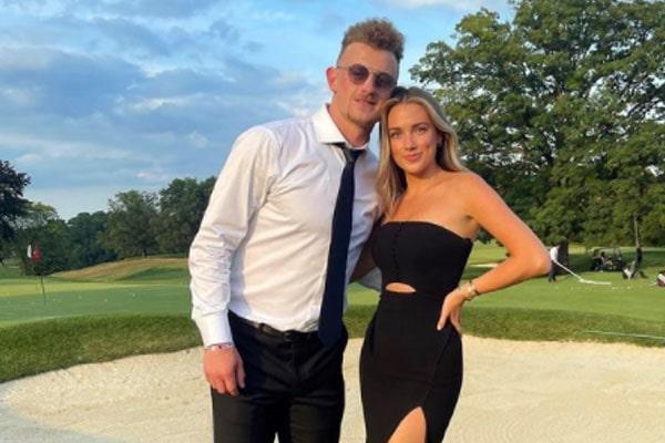 Jack Eichel's girlfriend, Erin Basil