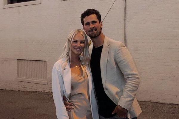 Dylan Larkin's girlfriend, Kenzy Wolfe