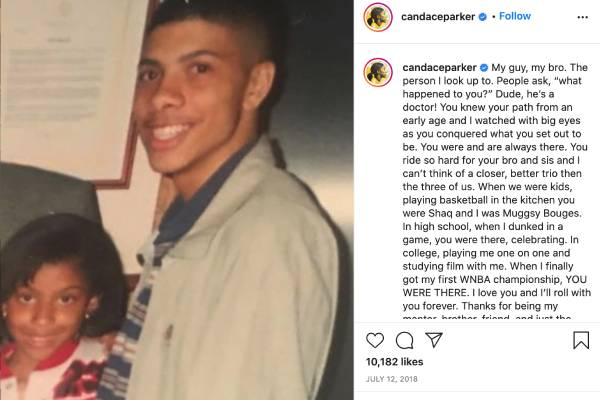 Candace Parker's Brother Marcus Parker