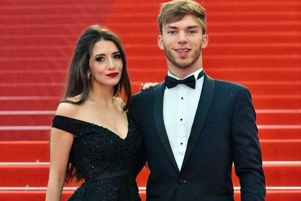Pierre Gasly's girlfriend, Caterina Masetti Zannini