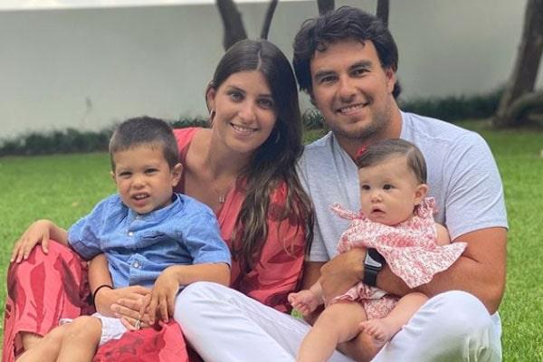 Sergio Pérez's wife, Carola Martinez