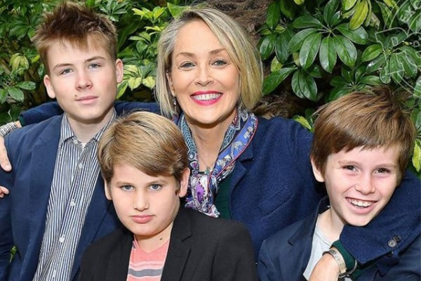 Sharon Stone Son, Quinn Kelly Stone
