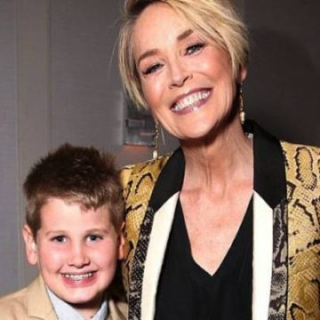 Sharon Stone's Son Laird Vonne Stone Is In His Teenage Years