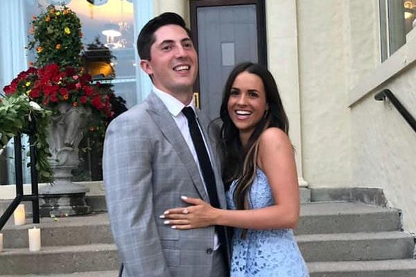 Zach Werenski's girlfriend, Odette Peters