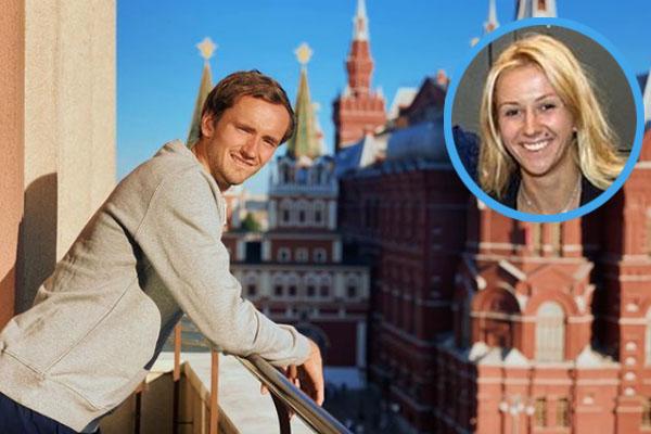 Daniil Medvedev's wife, Daria Medvedev